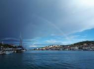 Trogir_View_From_Sea