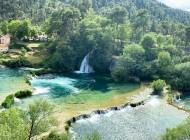 View-on-waterfalls-Krka-from-Split-Croatia