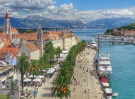 city TROGIR from Split