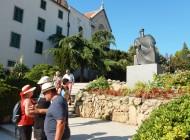 Monuments-and-scuplture-in-Sibenik-Croatia