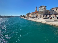 Sea-and-sun-in-Trogir-city