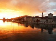 Sunset-in-Trogir-Croatia