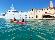 Trogir-main-coast-sea-kayaking-from-Split-Croatia